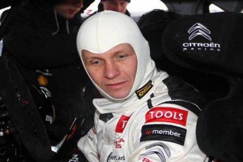 Petter Solberg sicherte sich zum Auftakt der Rallye Mexiko die Bestzeit