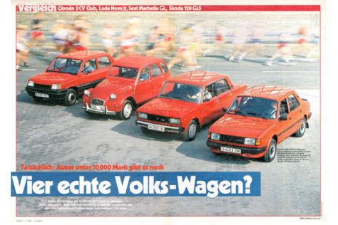 Vier echte Volkswagen?