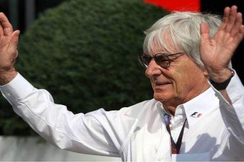 Nicht einmal Formel-1-Chef Bernie Ecclestone (80) wird ewig leben...