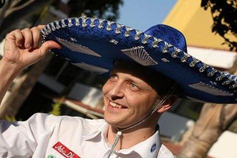 Mikko Hirvonen muss auch manchmal vom Rallyesport abschalten