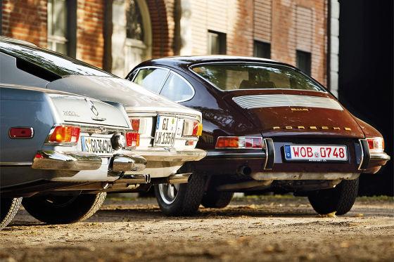 Fiat Dino 2.4 Porsche 911 S Mercedes 280 SL