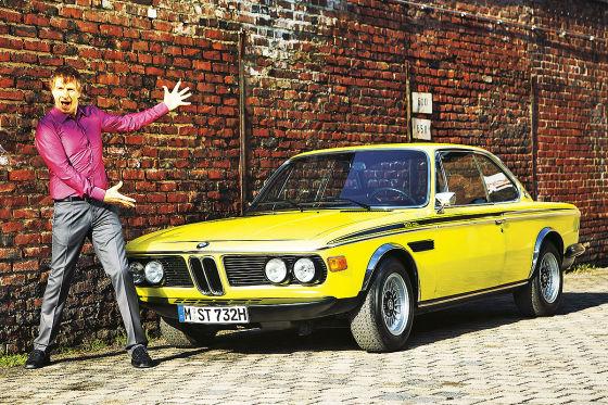 Ingolf Lück im BMW 3.0 CSL
