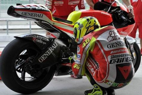Valentino Rossi auf Fehlersuche: Noch läuft es nicht wirklich rund beim