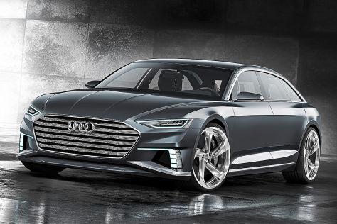 Audi APrologue Avant Genfer Autosalon Vorstellung - Audi a 9