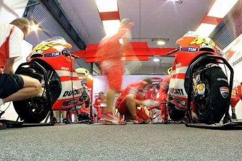 Das Ducati-Werksteam arbeitet hart daran, den Rückstand zur Spitze aufzuholen