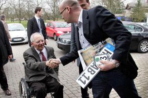 Scheitert es an Schäuble?