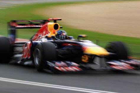 Sebastian Vettel startete eindrucksvoll in seine erste Saison als Weltmeister