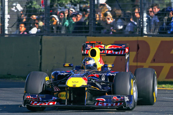 Sebastian Vettel siegt beim Großen Preis von Australien 2011