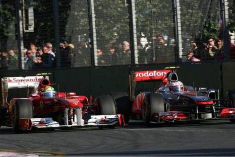 An Felipe Massa führte für Jenson Button einfach kein Weg vorbei