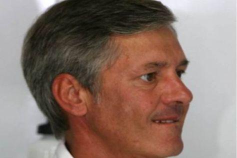 Manager Daniele Morelli verfolgte den Grand Prix mit Robert Kubica im TV