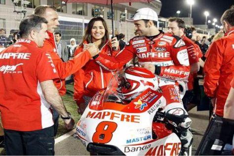 Hector Barbera wird vor der großen Kulisse in Jerez viele Hände schütteln müssen