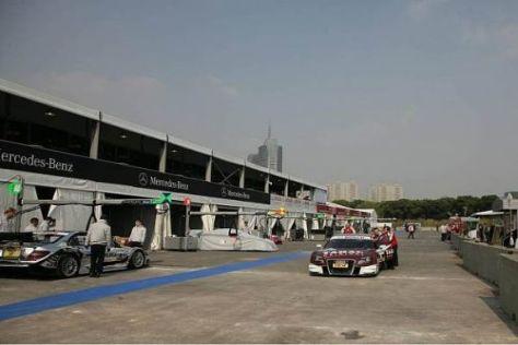 Die DTM wird 2011 nicht wieder in die asiatische Metropole reisen