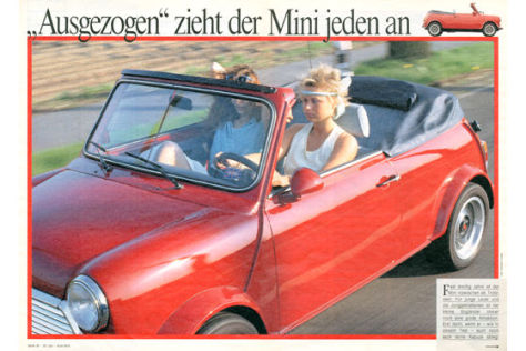 Austin Mini-Cabrio