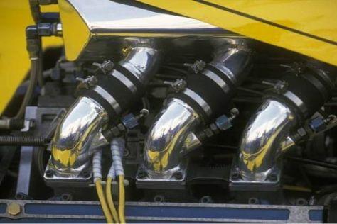 Pionierarbeit: Mit diesem Turbo debütierte Renault 1977 in der Formel 1