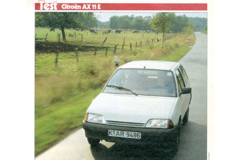 Citroën AX 11 E
