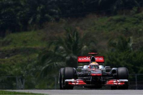 Lewis Hamilton ist hoffnungsvoll, dass er um den Sieg mitfahren kann