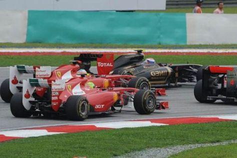 Ferrari-Problem: Wer im Qualifying zu langsam ist, hängt im Rennen fest