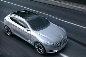 Starkes SUV von Peugeot
