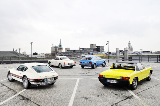 VW SP2 Karmann-Ghia Typ 14 VW Scirocco I VW-Porsche 914/4