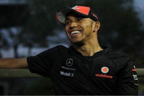 Lewis Hamilton steht noch bis Ende 2012 bei McLaren unter Vertrag