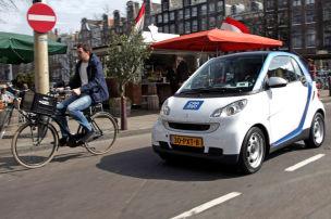 Carsharing mit E-Smart