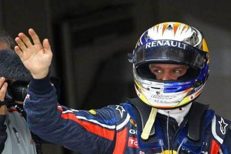 Sebastian Vettel geht erneut vom besten Startplatz in einen Grand Prix
