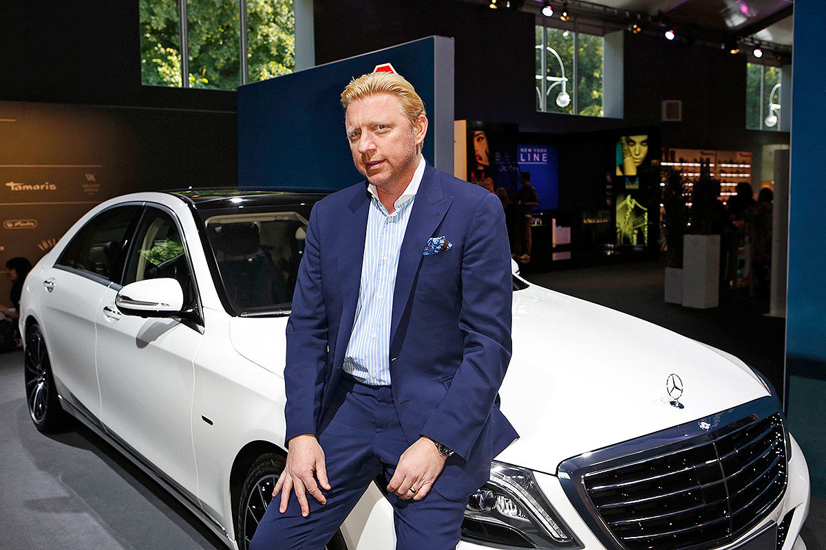 Bilder Mercedes 190 E Boris Becker