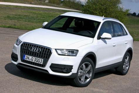 Audi Q3: Sitzprobe