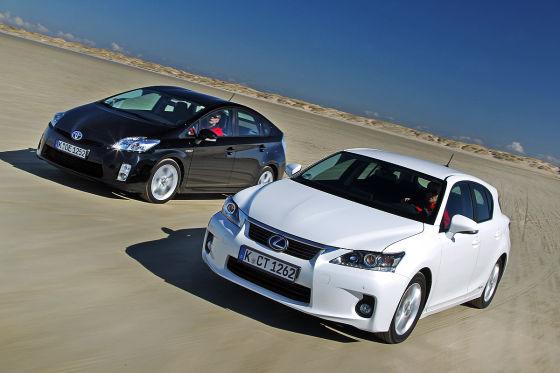 Toyota Prius Lexus CT 200h