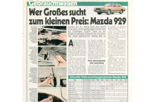 Mazda 929: Gebrauchtwagen
