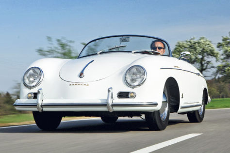 heckmotor klassiker porsche 356 speedster. Black Bedroom Furniture Sets. Home Design Ideas