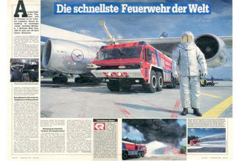 Frankfurt Airport Feuerwehr