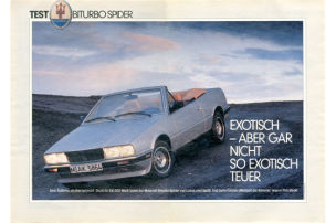Maserati Biturbo Spider: Test
