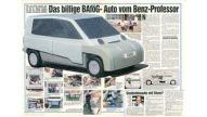 Kleinwagen von Mercedes