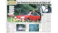 Teststrecken bei Opel