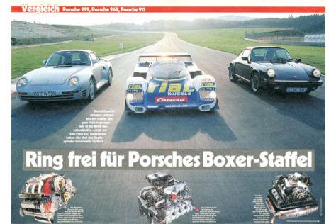 Porsche 959 Porsche 962 Porsche 911