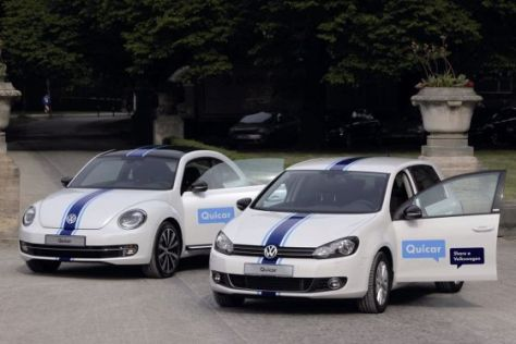 VW startet Car-Sharing-Programm