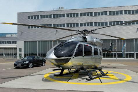 helikopter ec145 mercedes benz style sch ner fliegen. Black Bedroom Furniture Sets. Home Design Ideas