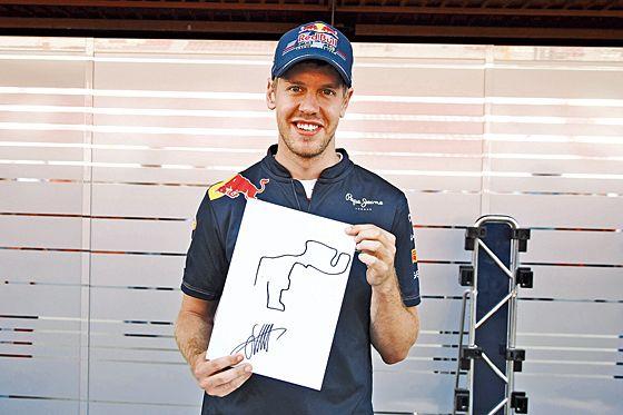 Zeichenstunde mit Vettel und Co.