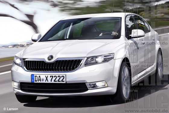 Skoda Octavia Illustration