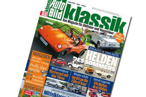 AUTO BILD KLASSIK 8/2011