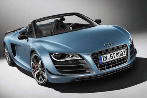 vorstellung audi r8 gt spyder. Black Bedroom Furniture Sets. Home Design Ideas