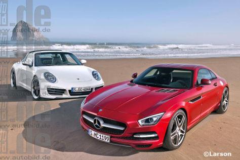 Mercedes Slc Mercedes Plant Den Baby Sls Autobild De