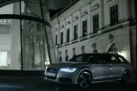 Audi A6 Avant Video Screenshot
