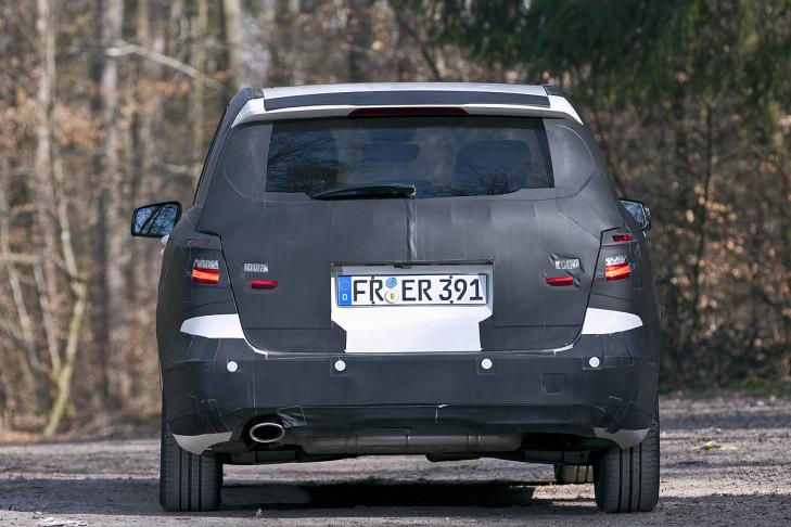 Bilder: neue Mercedes B-Klasse Erlkönig