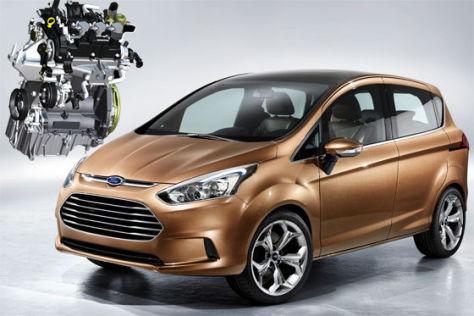 Ford 1.0 Ecoboost-Dreizylinder