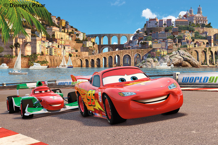 Francesco Bernoulli Lightning McQueen