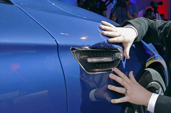 BMW M5 (F10) Kiemen