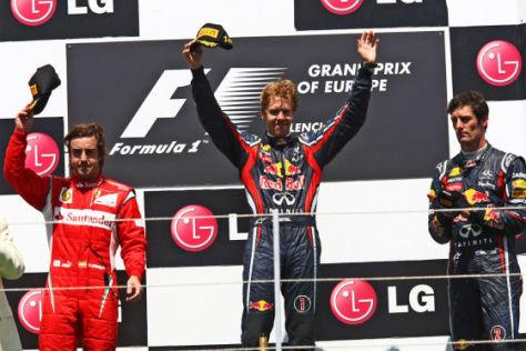 Formel 1 GP von Europa 2011