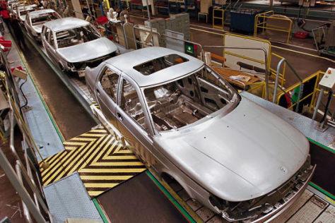 Saab-Produktion in Trollhättan